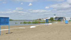 Четыре пляжа подготовили к открытию на территории Омска