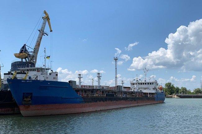 Nika Spirit танкер Россия Украина
