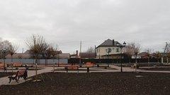 В Усть-Лабинске после ремонта открылся сквер