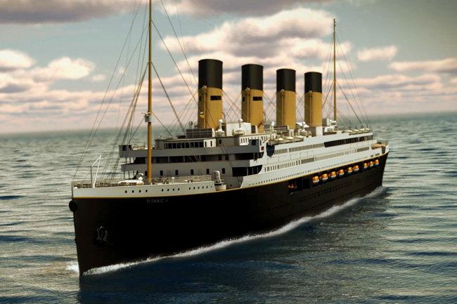 Суперлайнер Титаник-2 спустят на воду в 2018 году