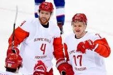 Хоккей сборная России олимпиада