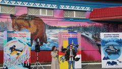 В Салехарде участники фестиваля «Культурная оборона» подарили горожанам еще четыре граффити