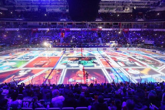 В Астане проходит мастер-шоу Матча звезд КХЛ