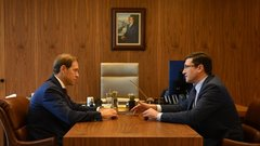 В Москве прошла рабочая встреча главы Минпромторга и губернатора Нижегородской области