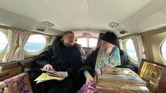 Ярославские епископы поднялись в воздух вместе с чудотворной иконой