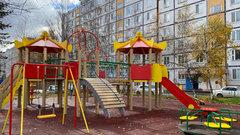 Детскую площадку в рамках нацпроекта благоустроили в Тынде