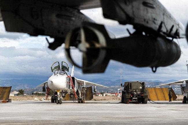 Сирия ВКС России военная база