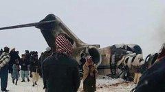 Установлена принадлежность упавшего в Афганистане самолета