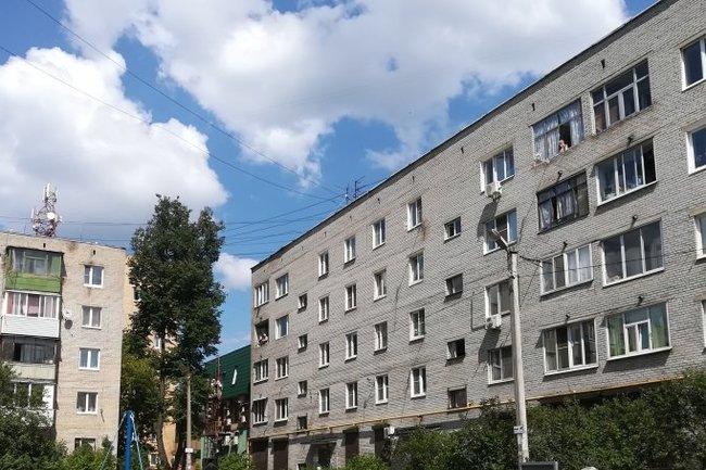 Пушкинские пятиэтажки