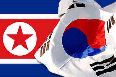 КНДР и Южная Корея флаг