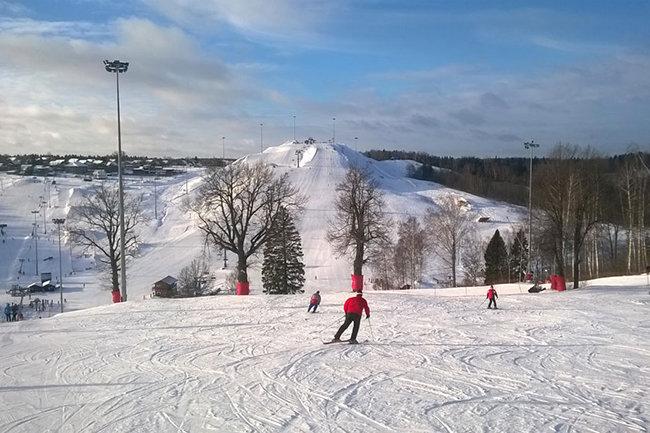 В Москве строят горнолыжные склоны