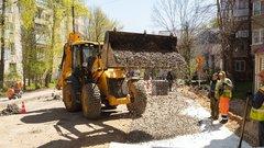 В Иванове начался ремонт дорог частного сектора в щебеночном исполнении