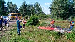 Тульские спасатели вернулись домой из Иркутской области