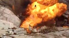 Нахимзаводе вСША прогремела серия взрывов