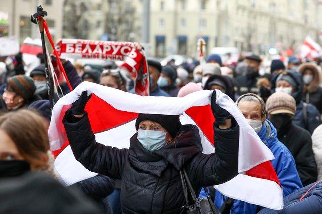 Белоруссия Минск протест оппозиция