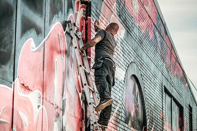 Тетердинко просит Полтавченко остановить разрушение граффити
