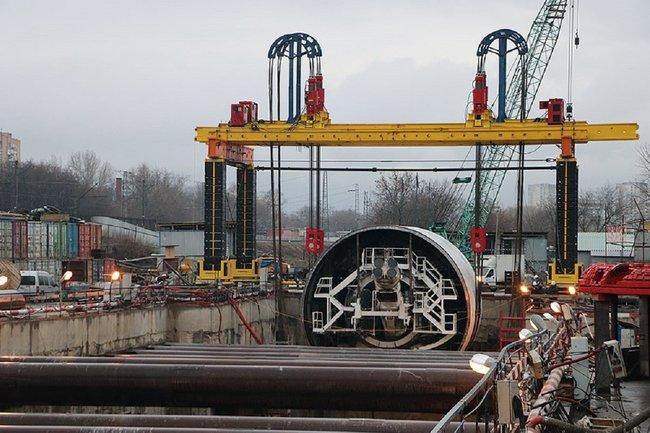 Работы по подготовке к строительству Большой кольцевой линии ведутся компанией Руслана Байсарова