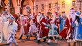 Парад Дедов Морозов и Снегурочек организовали в Калуге