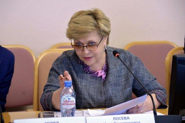 Депутат Тюменской облдумы Инна Лосева
