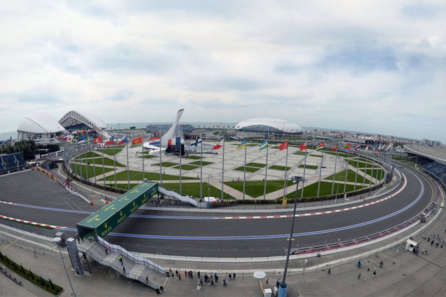 Формула 1 Гран-при России Сочи