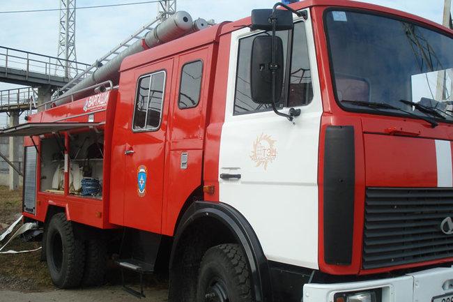 ВМосковском районе Казани случился сильный пожар