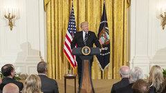 Трамп: политическому террору нет места в США