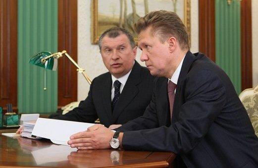 «Слоны» российской экономики Игорь Сечин и Алексей Миллер