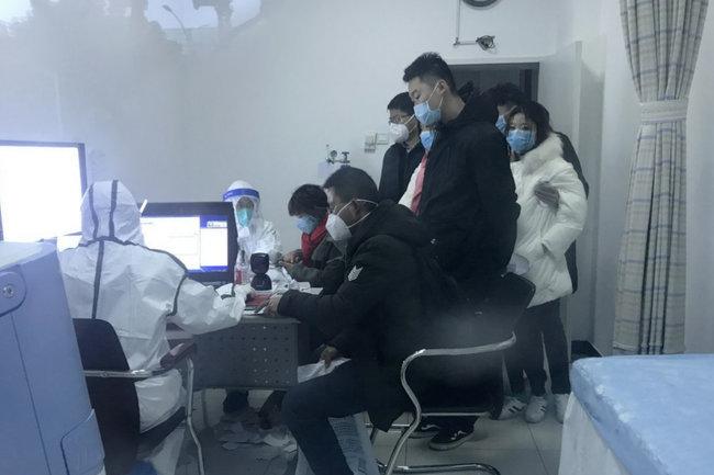 коронавирус в Китае/карантин