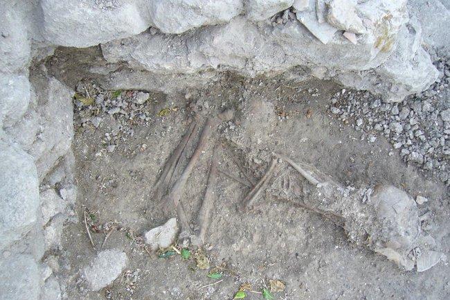 Останки хананея, из которых была извлечена ДНК (с) Dr. Claude Doumet-Serhal - The Sidon excavation