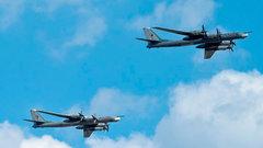 ВВС США перехватили российские бомбардировщики у берегов Аляски