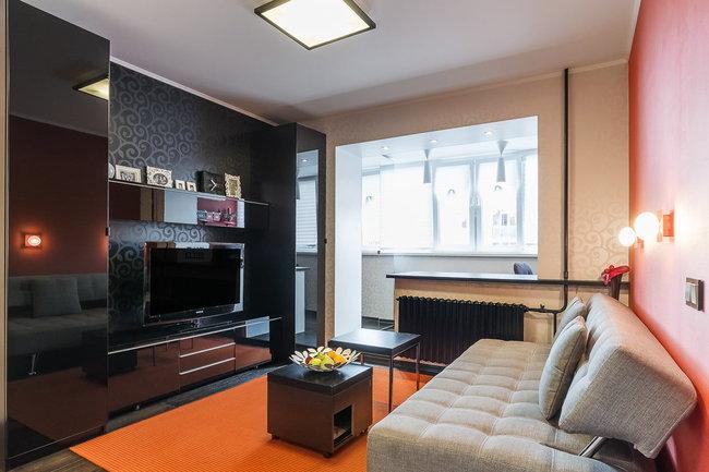 Дизайн и ремонт однокомнатной квартиры