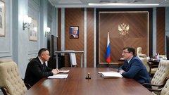 Министр строительства и ЖКХ и губернатор Нижегородской области обсудили реализацию нацпроектов в регионе