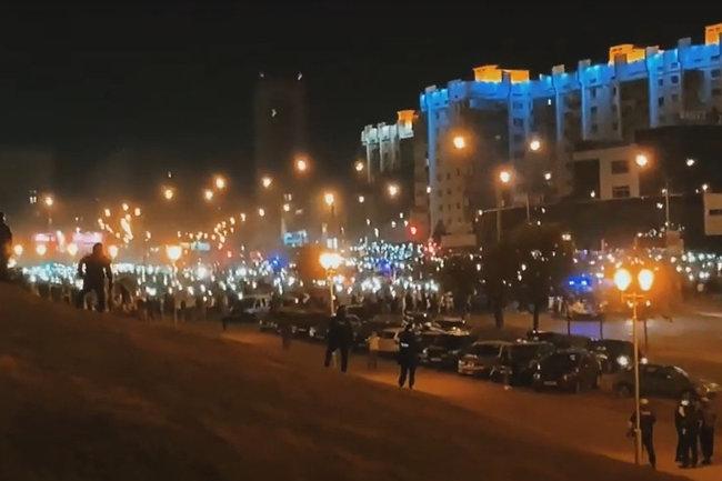 Белоруссия/протест