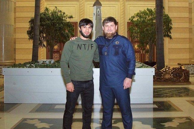 Зубайра Тухугов и Рамзан Кадыров