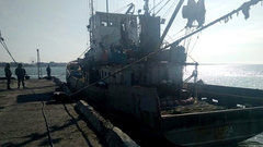 Украина может конфисковать задержанное российское рыболовецкое судно