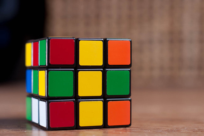 расположение цветов на кубике рубика картинки считается