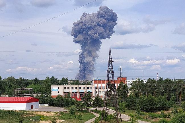 завод взрыв Кристалл