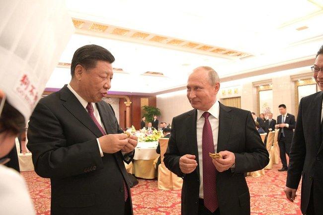 Владимир Путин Си Цзиньпин