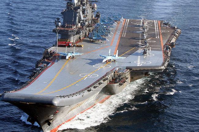 "Авианосец ""Адмирал Кузнецов"""