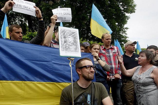 Украина Киев День победы