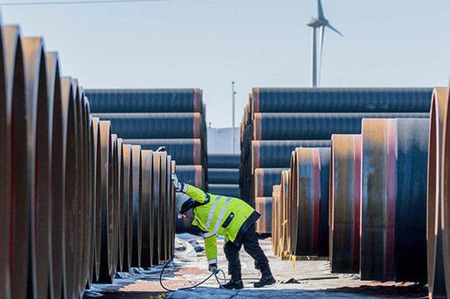 Nord Stream-2 газ газопровод трубы