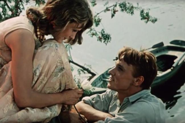 Лидия Шапоренко и Георгий Юматов (Первое свидание 1960)