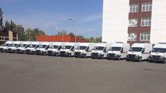 В Карачаево-Черкесии медикам вручили ключи от 17 новых машин скорой помощи