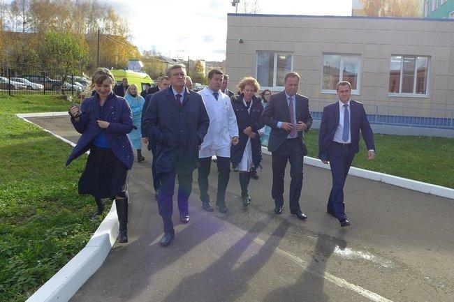 Визит полпреда президента в ПФО в Кировскую область