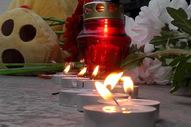 память о погибших при крушении самолета Airbus A321 в Египте