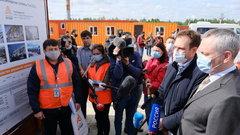 Губернатор Новосибирской области высоко оценил качество реконструкции ВПП-2 аэропорта «Толмачёво»