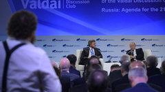 «Полная неадекватность»: политолог овыступлении Путина наВалдае
