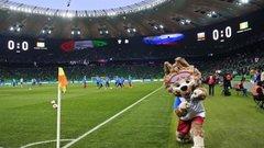 Победа Мексики над Германией привела кземлетрясению