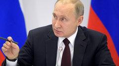Путин простудился, но продолжает работать