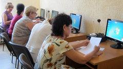 Более 2,5 тысяч пенсионеров Кубани научились обращаться с компьютером